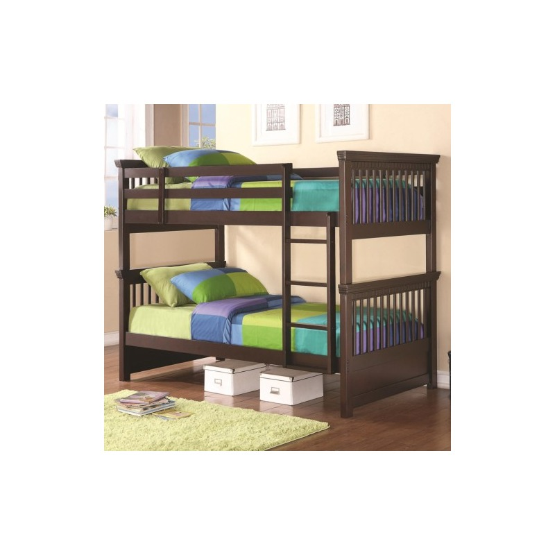 Bunks Casual-Style Twin Bunk Bed