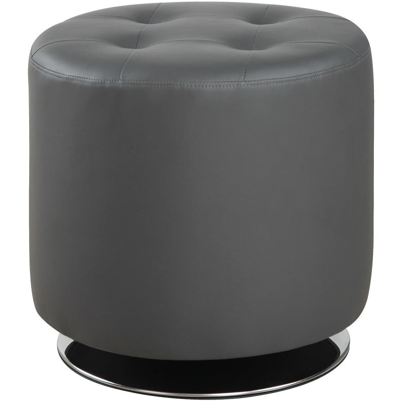 Ottomans Contemporary Circular Ottoman