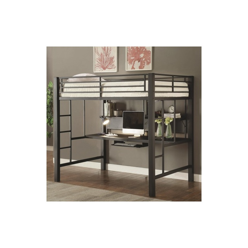 Bunks Workstation Full Loft Bed