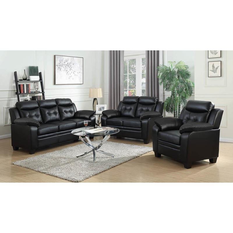 Finley Casual Black Chair