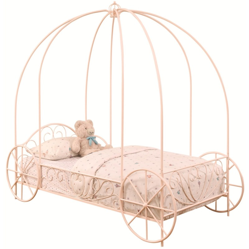 Iron Beds and Headboards Twin Massi Canopy Carriage Bed