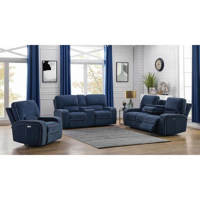3pcs (sofa + Loveseat + Recliner)