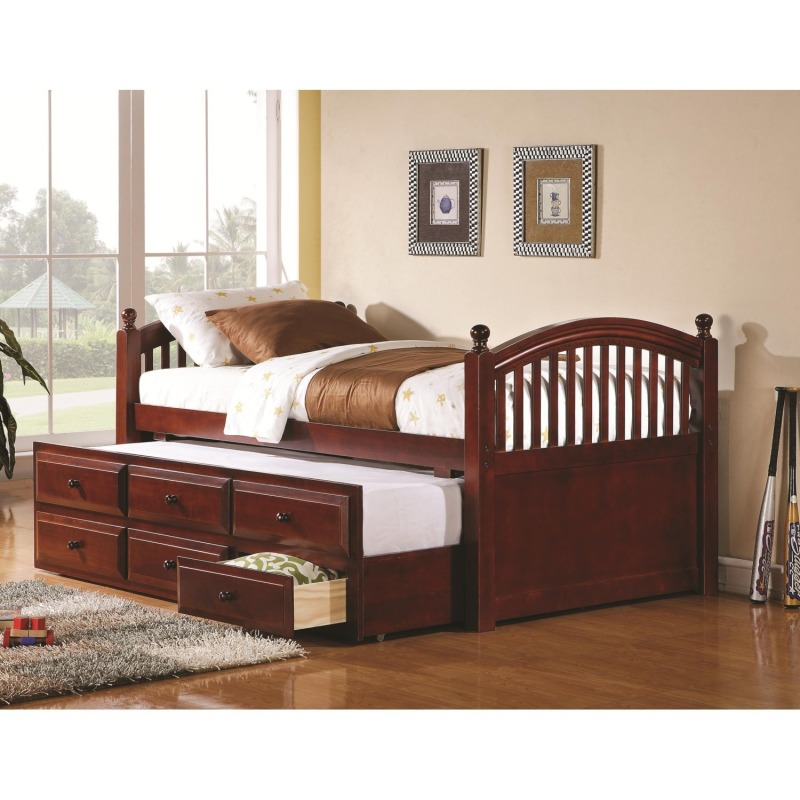 Daybeds By Coaster Captain S Daybed With Trundle And