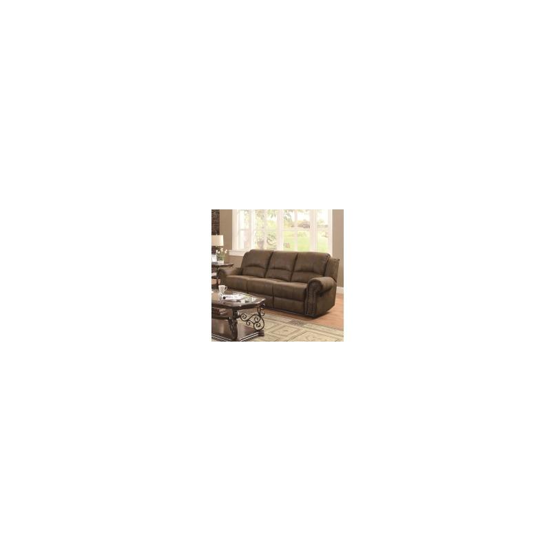 Sir Rawlinson Traditional Reclining Sofa with Nailhead Studs