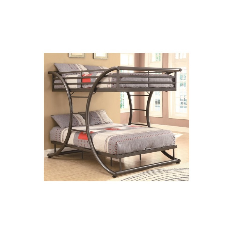 Bunks Full-over-Full Contemporary Bunk Bed