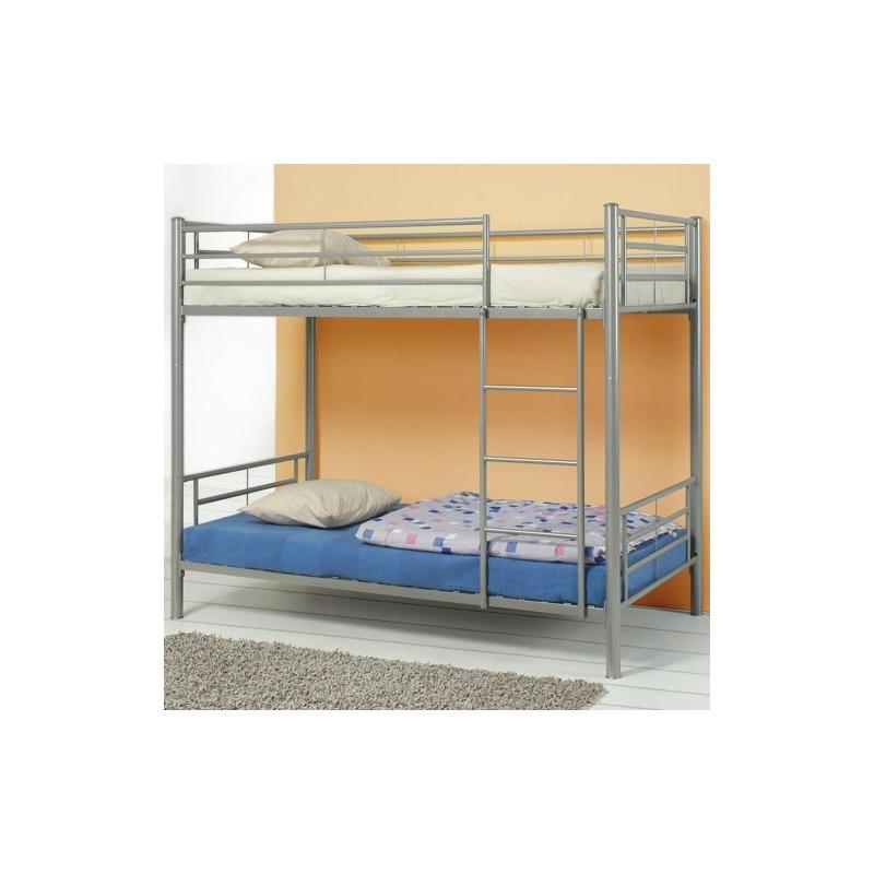 Denley Metal Twin over Twin Bunk Bed