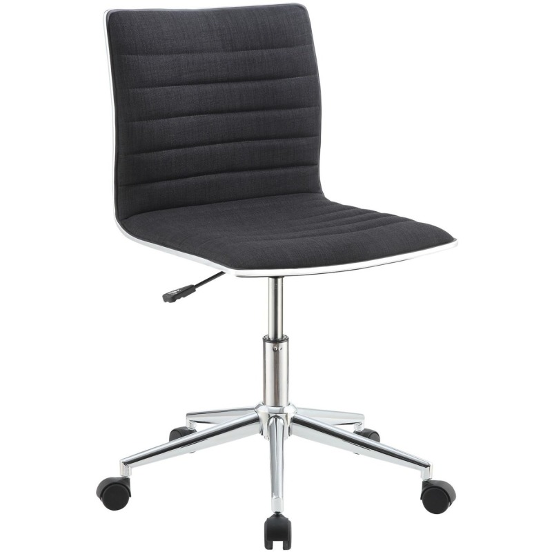 Office Chairs Sleek Office Chair with Chrome Base