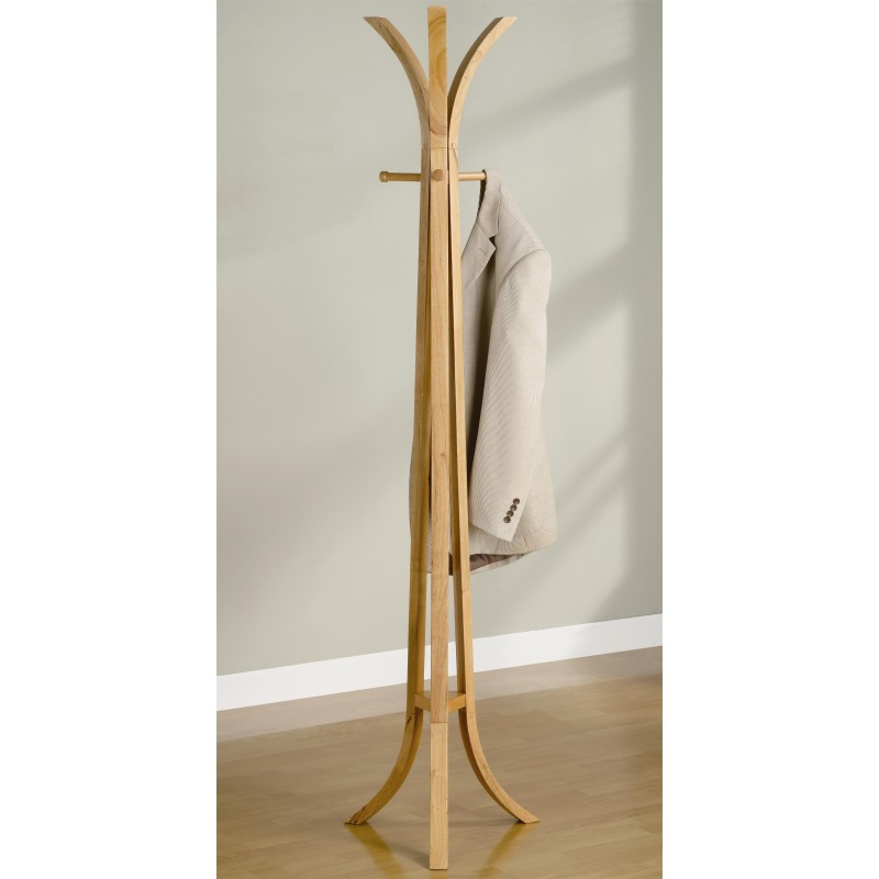 Coat Racks Contemporary Wood Coat Rack
