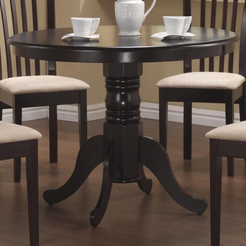 Brannan Round Single Pedestal Dining Table