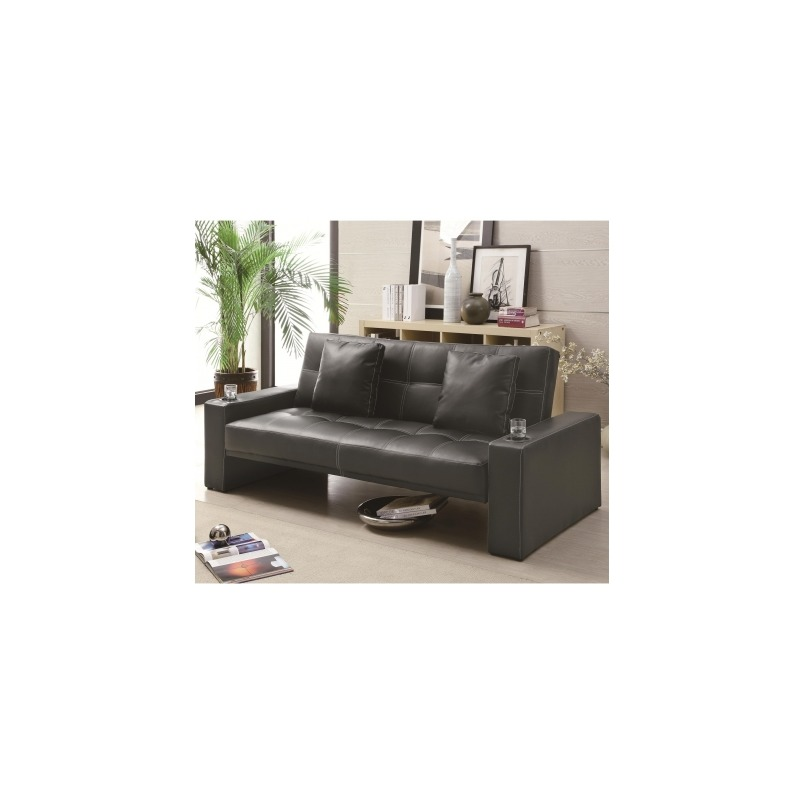 Sofa Beds Futon Styled Sofa Sleeper with Casual Furniture ...