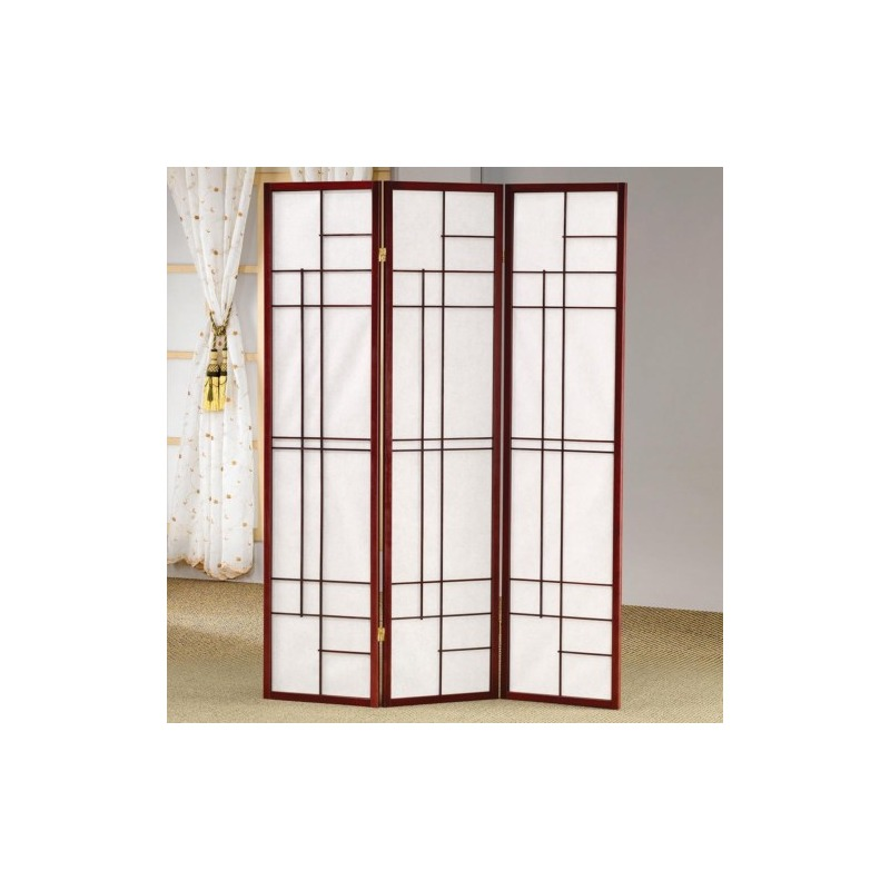 Folding Screens Three Panel Folding Floor Screen