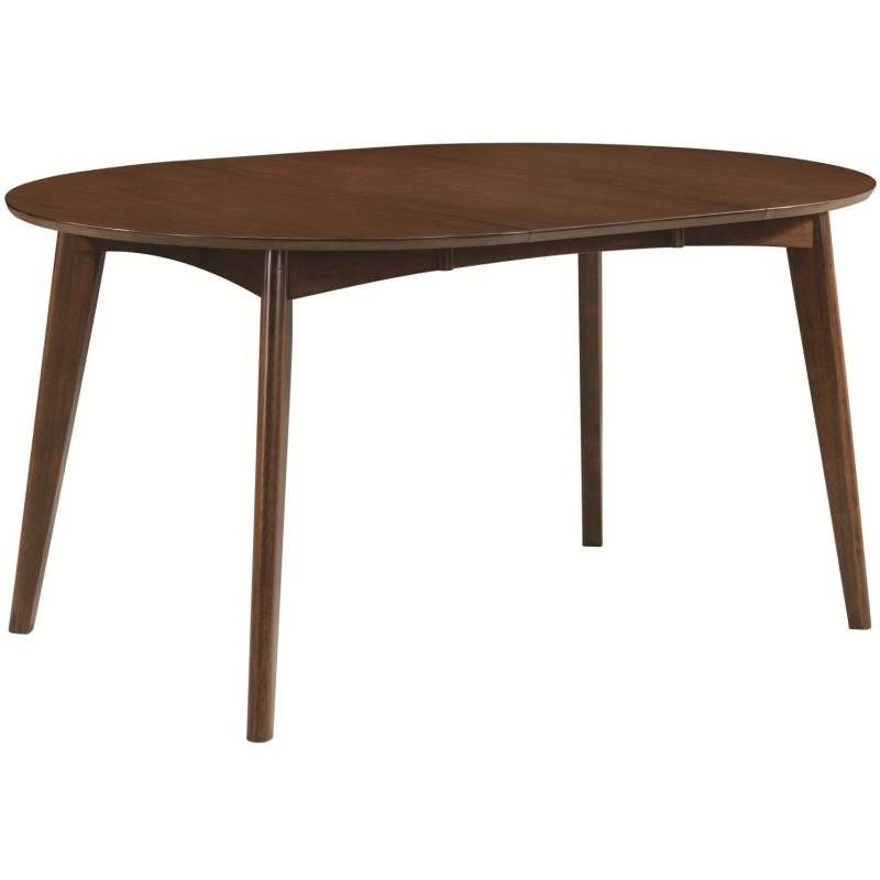 Malone Mid-century Modern Casual Solid Wood Dining Table