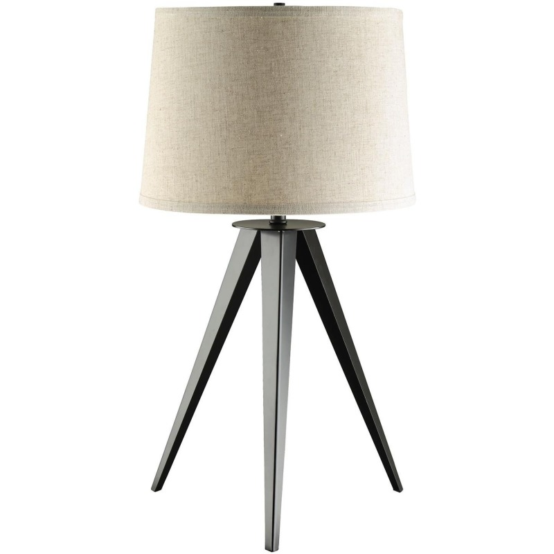 Table Lamps Table Lamp with Three-Leg Base