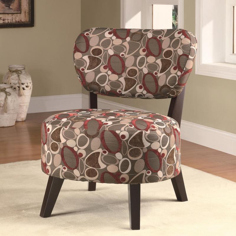 Pleasing Accent Seating Accent Chair W Padded Seat By Coaster Inzonedesignstudio Interior Chair Design Inzonedesignstudiocom