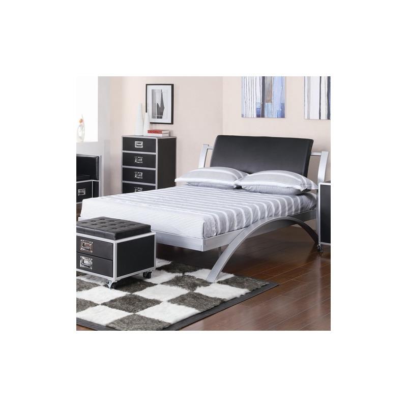 LeClair Twin Metal Platform Bed