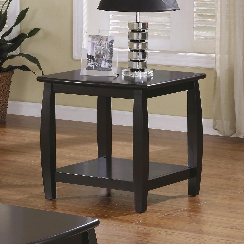 100+ end tables coaster shelf bottom marina sofa emporium espresso coffee wayfair shelves accent theclassyhome