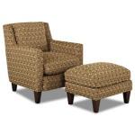 Simmons Chair and Ottoman