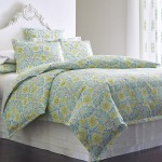 Painted Medallions Duvet Cover