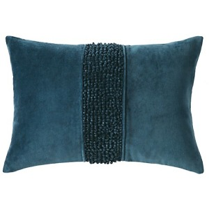 "Topaz Pillow - Navy - 14"" x 20"""