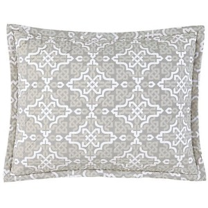 Lennox King Sham - Pewter