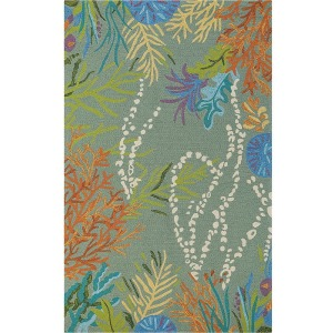 Under The Sea Lake Rug - 5' x '8