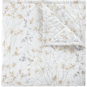 Almond Blossom King Quilt- Ivory