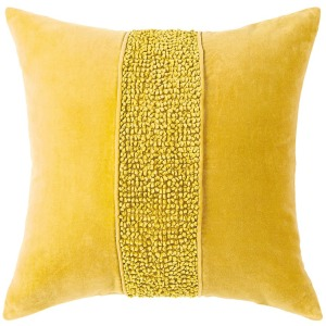 Topaz Pillow - Gold