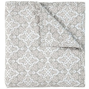 Lennox King Quilt - Pewter