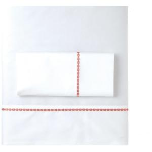 Ashton Queen Sheet Set - Coral