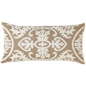 """Lana Ivory Pillow Pillow 12"""" x 24"""""""