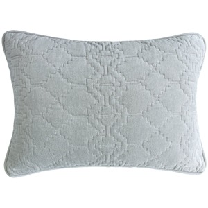 "Sylvie Pewter Pillow - 14""X20"""
