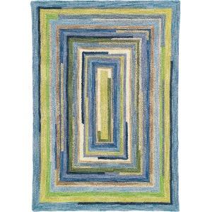 Cocentric Squares Rug