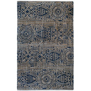 Artifacts Rug - Indigo -  5' x 8'