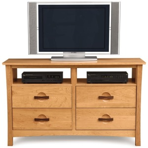 Berkeley 4 Drawer Dresser + TV Organizers