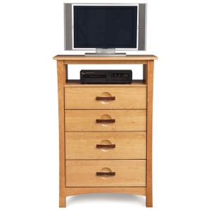 Berkeley 4 Drawer Chest + TV Organizer
