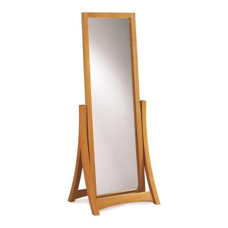 Floor Mirror in Cherry