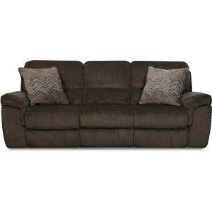 Reilly Chocolate Reclining Sofa
