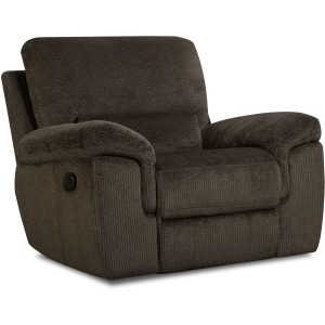 Reilly Chocolate Glider Recliner