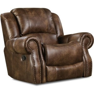 Waylon Mocha Recliner w/Power Headrest