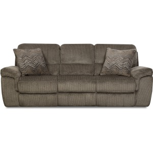Reilly Taupe Reclining Sofa