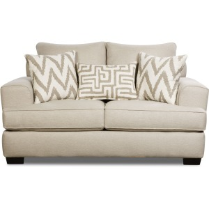 Loveseat - Colonist Oatmeal