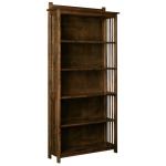 Mission 6' Bookshelf with Back