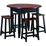 Contemporary 42 Round Gathering Table