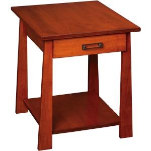 Craftsmen End table w/ Drawer