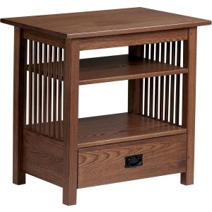 Mission TV Table with Drawer