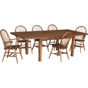 Deluxe Extension Table w/ 3-12 leaves