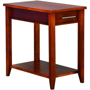 Contemporary Chairside Table w/ Drawer