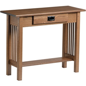Mission Console Table with Drawer