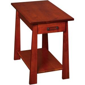 Craftsmen Chairside Table w/ Drawer