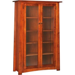 Craftsmen Bookcase w/ Glass Doors